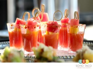 SOHO TACO Gourmet Taco Catering - Espadillas de Fruta - Appetizers - Orange County