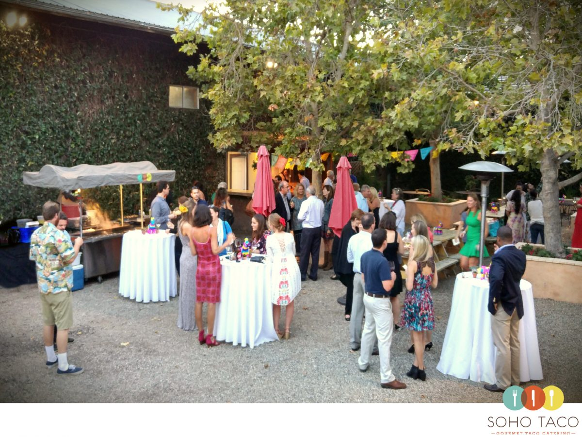 SOHO TACO Gourmet Taco Catering - Brander Vineyard - Wedding - Santa Ynez