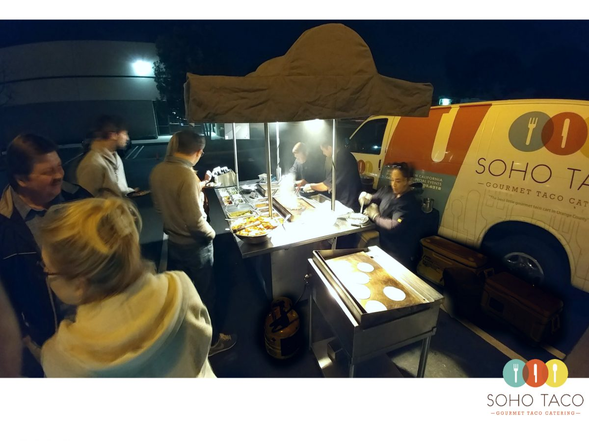 SOHO TACO Gourmet Taco Catering - Tasting Night - Orange County - OC