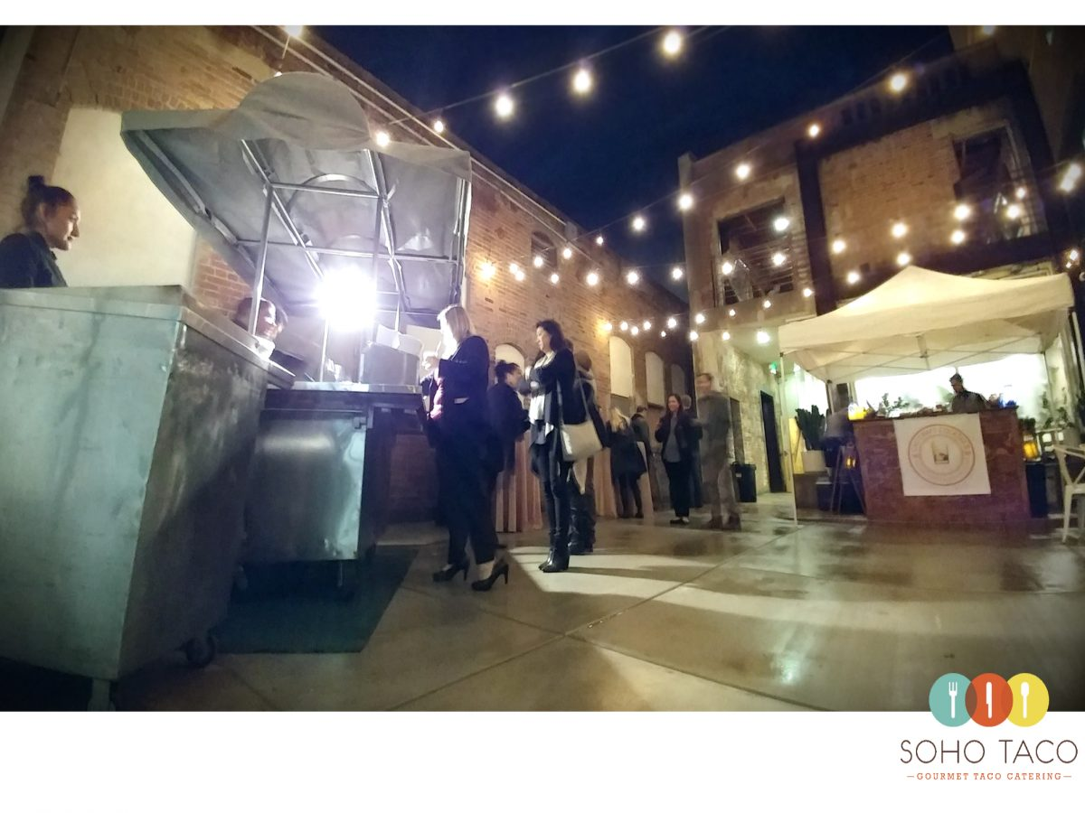 SOHO TACO Gourmet Taco Catering - The Howl Club House - Long Beach - Los Angeles CA