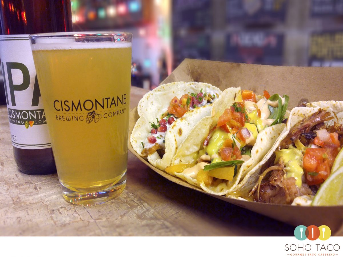 SOHO TACO Gourmet Taco Catering - Cismontane Brewing Co - Santa Ana - Orange County - OC