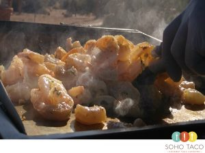 SOHO TACO Gourmet Taco Catering - Orange County - Shrimp On The Grill