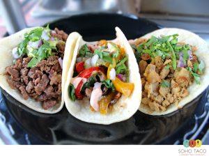 SOHO TACO Gourmet Taco Catering - Carne Asada - Vegetariano - Pollo Asado