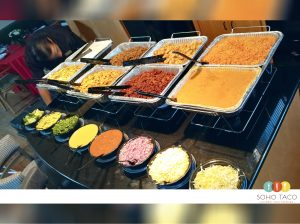 SOHO TACO Gourmet Taco Catering - Delivery Drop Off - Appetizers