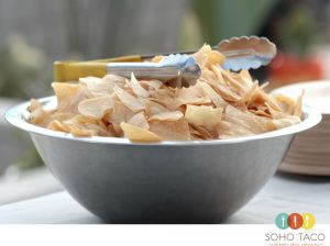 SOHO TACO Gourmet Taco Catering - The Station - Joshua Tree - Wedding - Tortilla Chips