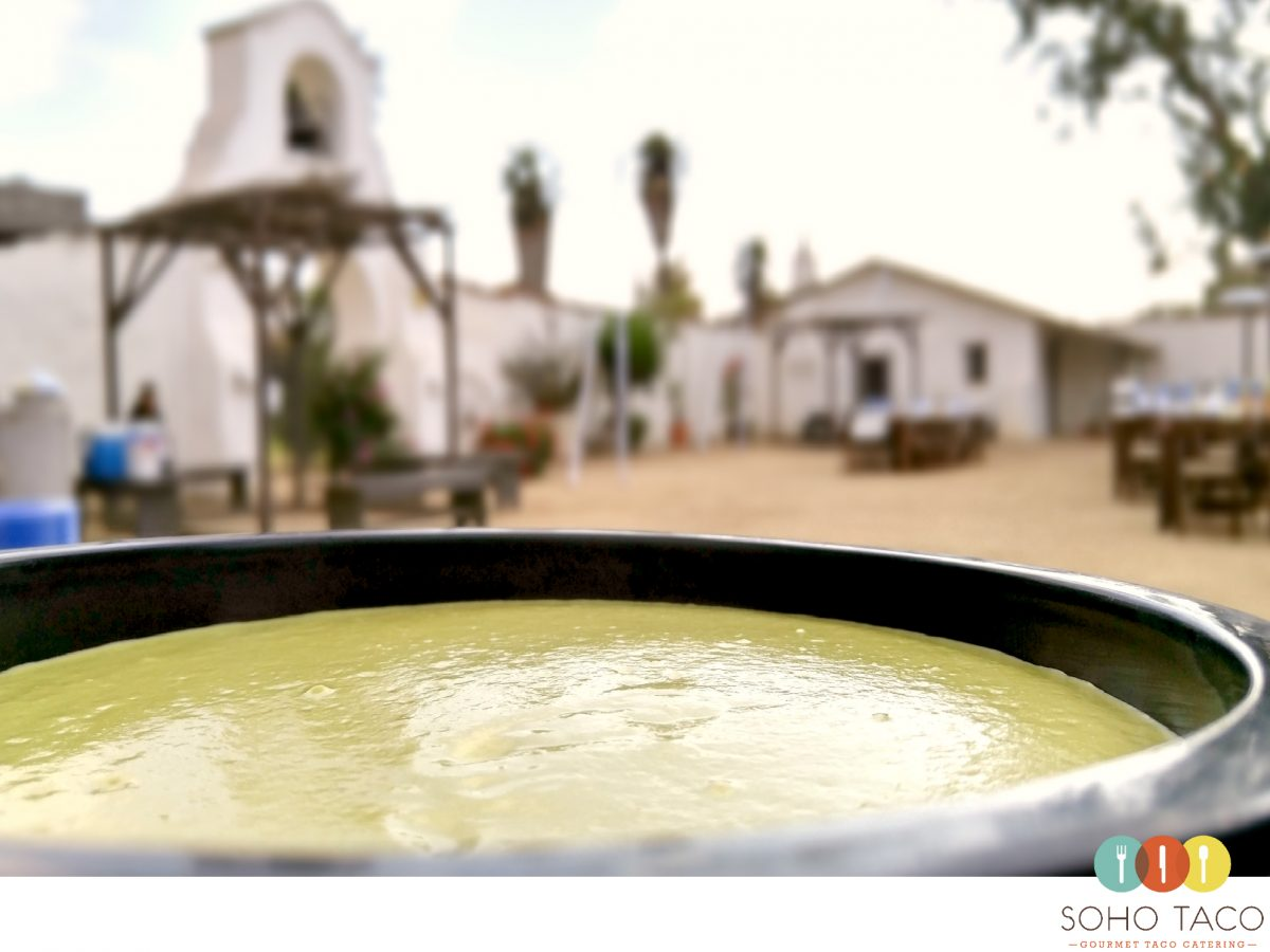 SOHO TACO Gourmet Taco Catering - Rancho Los Olivos - Jalapeno Salsa