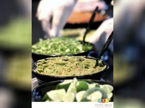 SOHO TACO Gourmet Taco Catering - Salsa de Guacamole - Orange County - OC - condiments LA