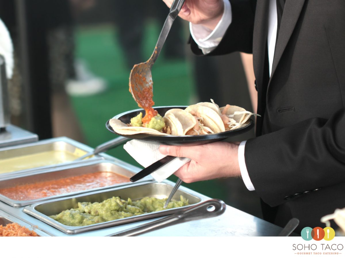 SOHO TACO Gourmet Taco Catering - Wedding at Dax Gallery - Costa Mesa CA