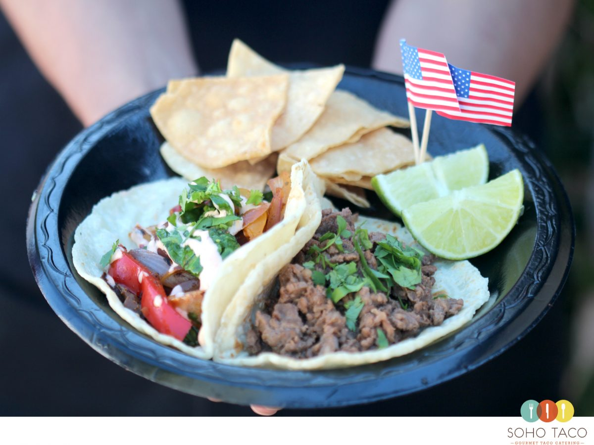 SOHO TACO Gourmet Taco Catering - Memorial Day - Los Angeles - Orange County - CA