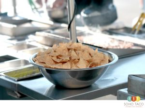 SOHO TACO Gourmet Taco Catering - Tortilla Chips - Orange County - OC