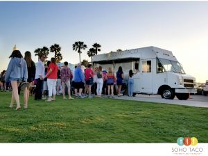 SOHO TACO Gourmet Taco Catering - Band On The Sand - Seal Beach - Orange County - Independence Day