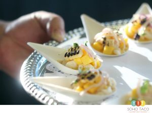 SOHO TACO Gourmet Taco Catering - Escabeche de Callito Appetizer - Orange County - Los Angeles