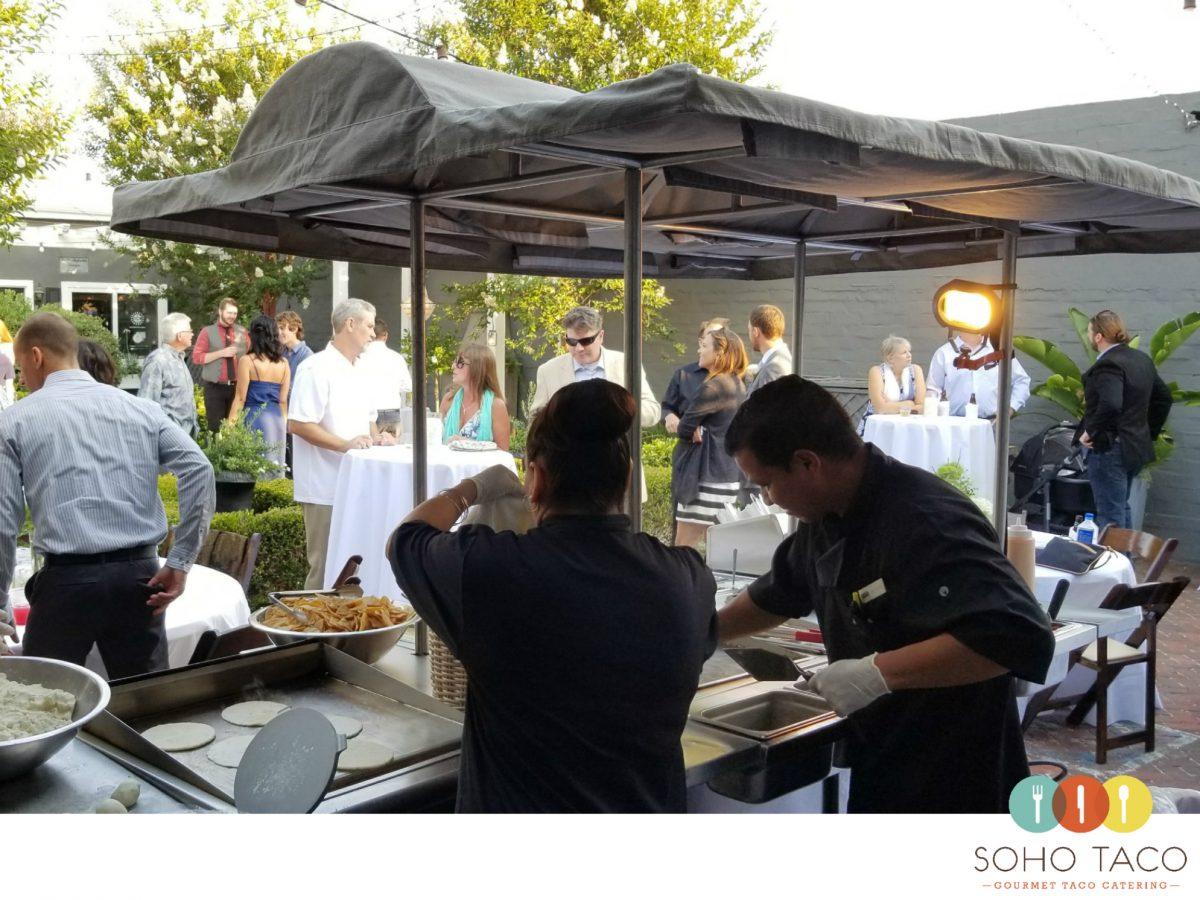 SOHO TACO Gourmet Taco Catering - Pelican Courtyard - Newport Beach - Orange County - OC