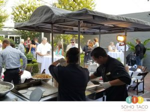 SOHO TACO Gourmet Taco Catering - Pelican Courtyard - Newport Beach - Orange County - OC