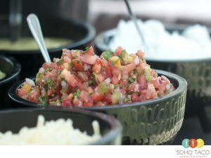 SOHO TACO Gourmet Taco Catering - Pico De Gallo - Orange County - OC