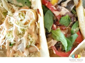 SOHO TACO Gourmet Taco Catering - Shrimp - Veggies - Orange County - OC