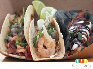 SOHO TACO Gourmet Taco Catering - Taco de Camarones - Orange County - OC
