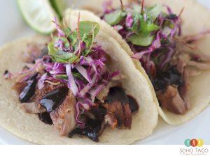 SOHO TACO Gourmet Taco Catering - Taco de Pato Confitado - Orange County - CA