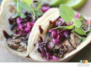 SOHO TACO Gourmet Taco Catering - Taco de Pato Confitado - Orange County - OC