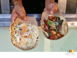 SOHO TACO Gourmet Taco Catering - Camarones - Veggies - Orange County - OC