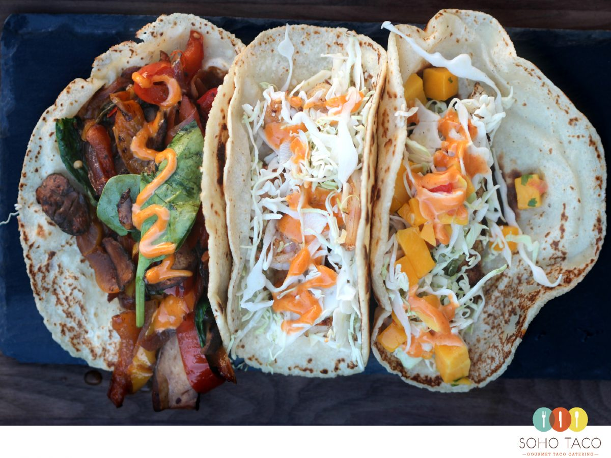 SOHO TACO Gourmet Taco Catering - Food Truck - Las Tres Gracias - Orange County - OC