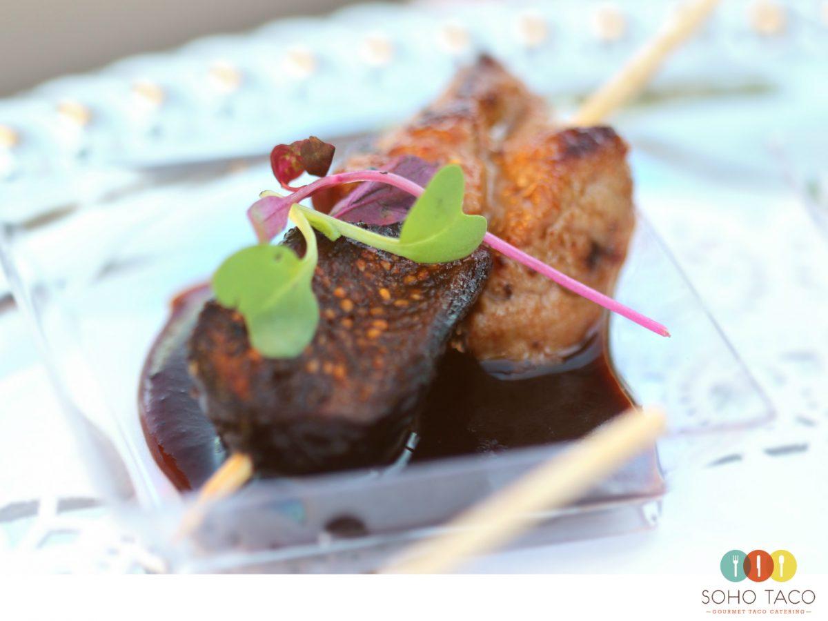 SOHO TACO Gourmet Taco Catering - Lomo de Cerdo Appetizers - Orange County - Los Angeles