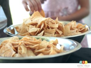 SOHO TACO Gourmet Taco Catering - Orange County - Tortilla Chips - OC