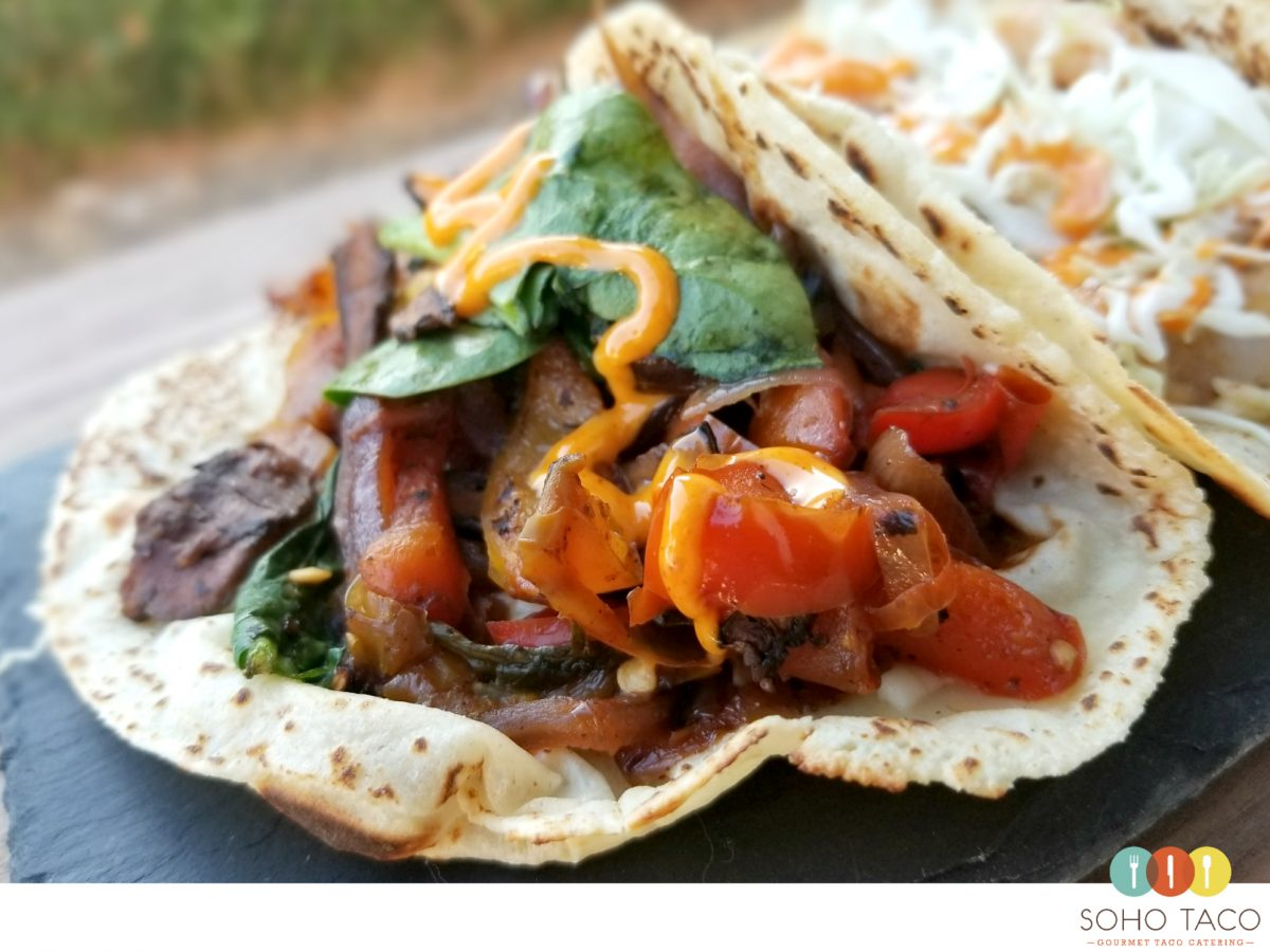 SOHO TACO Gourmet Taco Catering - Orange County - Veggie Tacos - Vegetarian - OC
