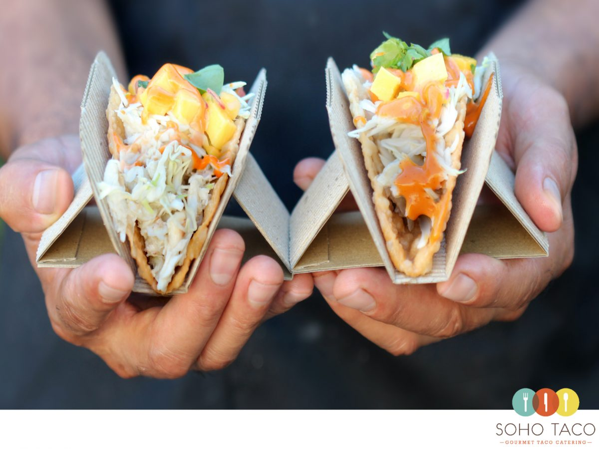 SOHO TACO Gourmet Taco Catering - Taco de Cangrejo - Orange County - OC - August Special