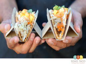 SOHO TACO Gourmet Taco Catering - Taco de Cangrejo - Orange County - OC - August Special