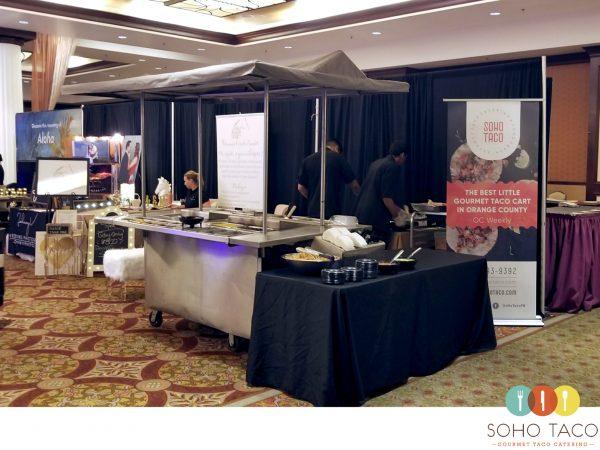 SOHO TACO Gourmet Taco Catering - Bridal Showplace - Wedding Expo - Hyatt Regency - Huntington Beach