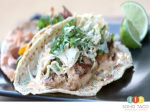 SOHO TACO Gourmet Taco Catering - Monkfish Asado - Orange County - OC