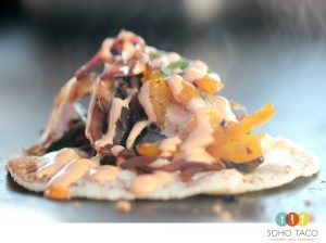 SOHO TACO Gourmet Taco Catering - Orange County - Veggie Taco - Vegetariano