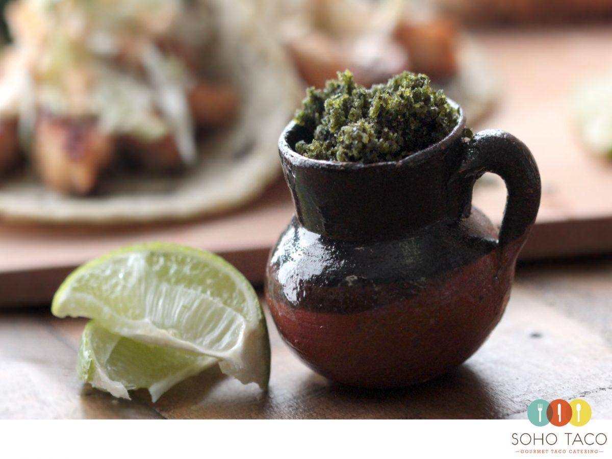 SOHO TACO Gourmet Taco Catering - Taco de Monkfish Asado - October Special Orange County - OC