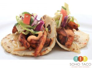 SOHO TACO Gourmet Taco Catering - Tacos de Calamari - June 2014 Special