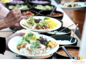SOHO TACO Gourmet Taco Catering - Unitarian Society of Santa Barbara - Wedding