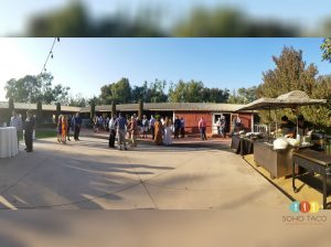 SOHO TACO Gourmet Taco Catering - Wedding - The Red Horse Barn - Huntington Beach CA