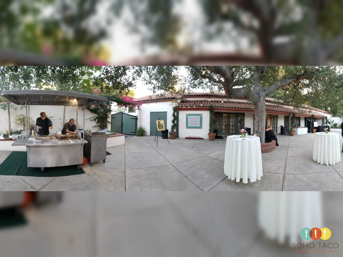 SOHO TACO Gourmet Taco Catering - Wedding - Thursday Club - La Canada Flintridge