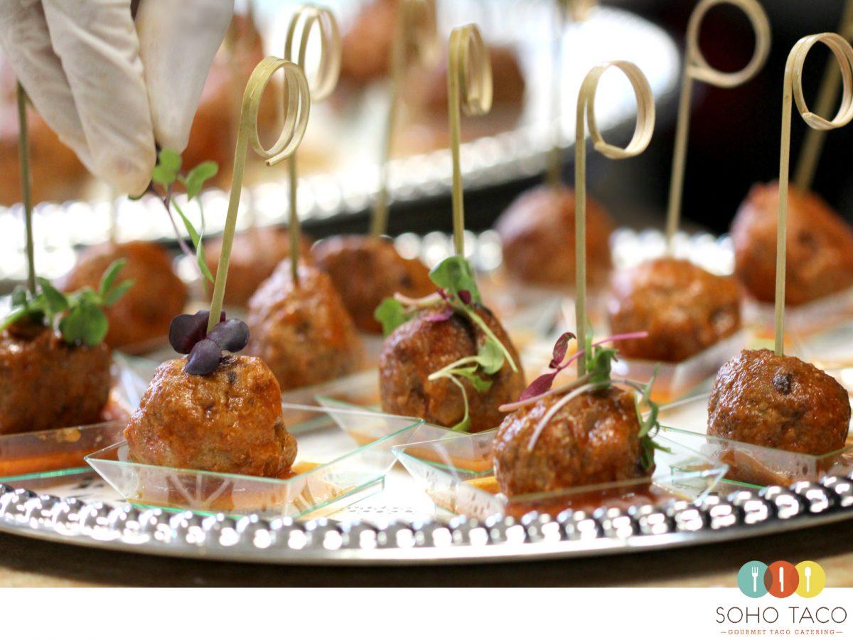 SOHO TACO Gourmet Taco Catering - Wedding - Unitarian Society of Santa Barbara - Albondigas
