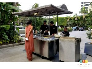 SOHO TACO Gourmet Taco Catering - Weddings - Island Hotel - Newport Beach CA
