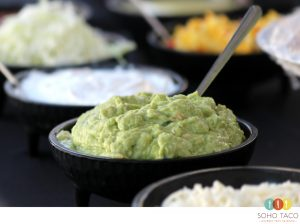 SOHO Taco Gourmet Taco Catering - Salsa de Guacamole - Orange County - Los Angeles