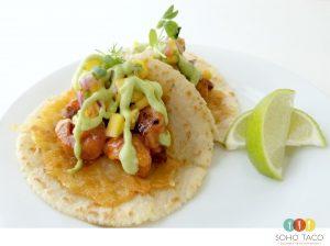 SOHO TACO Gourmet Taco Catering - Camarones Fuego - Orange County - OC