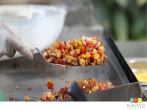 SOHO TACO Gourmet Taco Catering - Spicy Potato - Orange County - OC