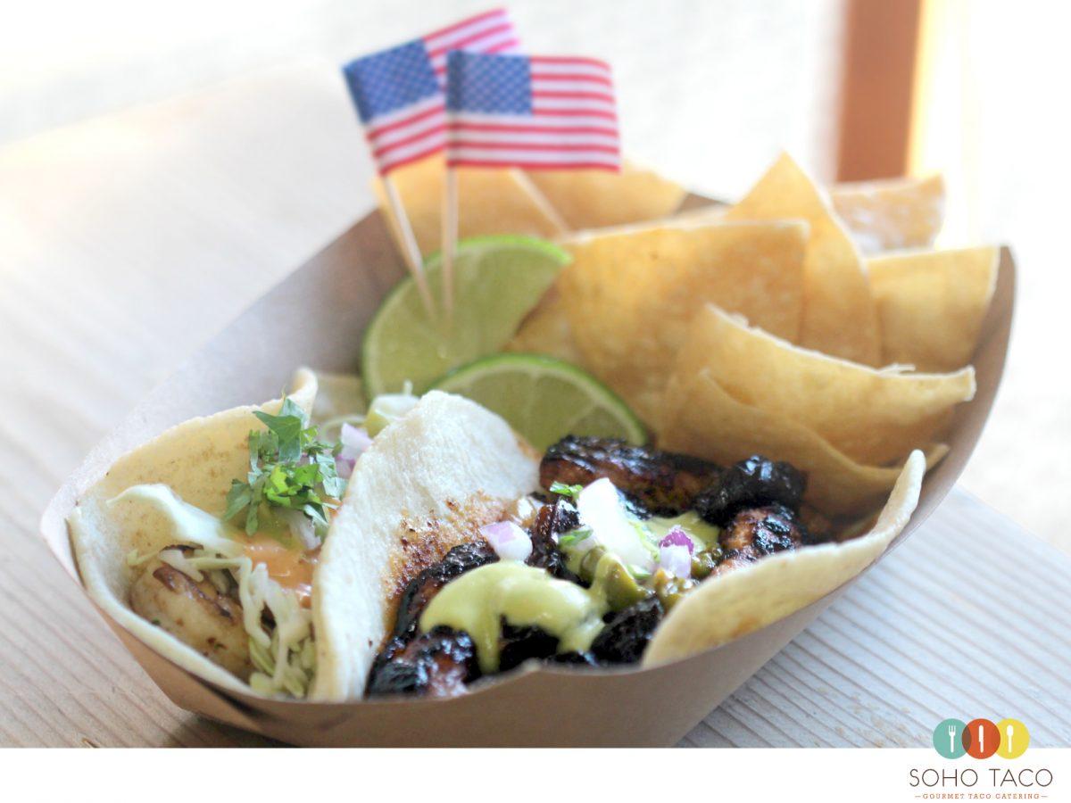 SOHO TACO Gourmet Taco Catering - Veterans Day