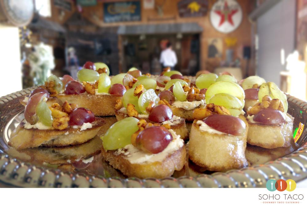 SOHO TACO Gourmet Taco Catering - Wedding - Holland Ranch - San Luis Obispo - Rebanadas de Uva