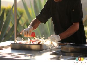 SOHO TACO - Hummingbird Nest Ranch - Wedding - Simi Valley - Grilling Veggies