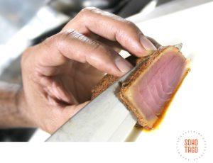 SOHO TACO Gourmet Taco Catering - Ahi Quemado - December Special