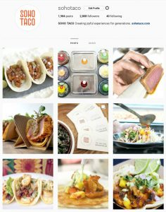 SOHO TACO Gourmet Taco Catering - Orange County - Los Angeles - Instagram