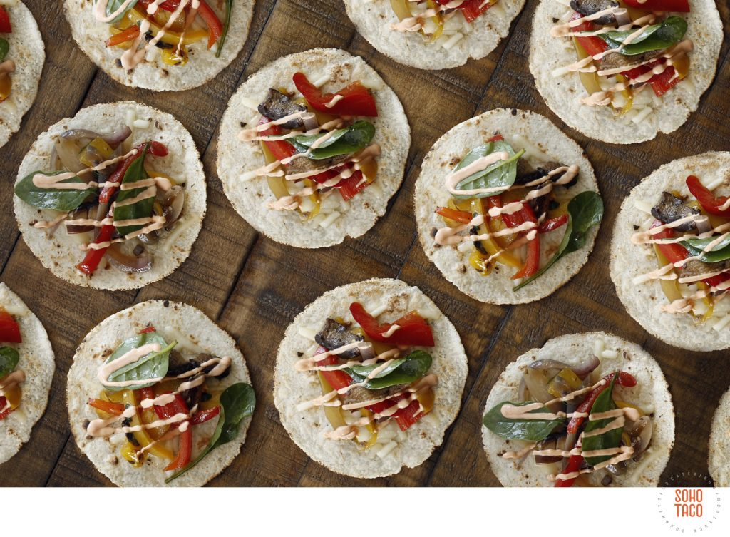 SOHO TACO Gourmet Taco Catering - Orange County - Los Angeles - Veggie Tacos