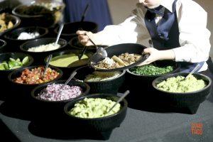 SOHO TACO Gourmet Taco Catering - Wedding - Empire Polo Club - Indio CA - Adding Cheese